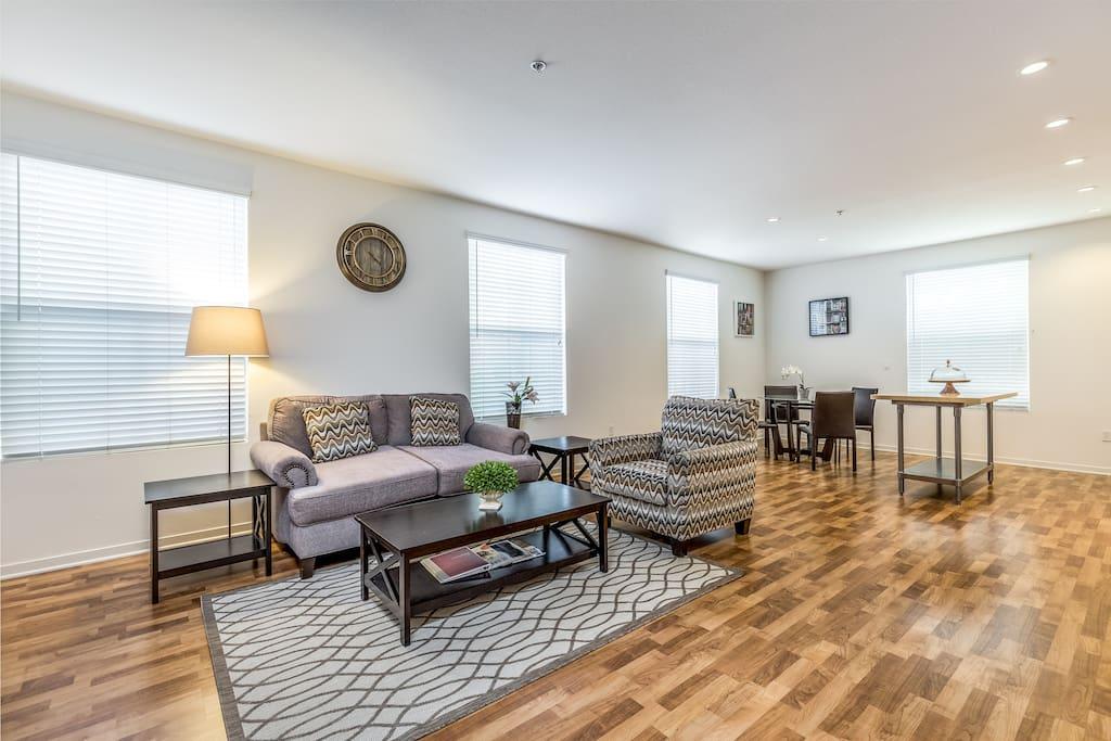Spacious Living Room 宽敞的客厅