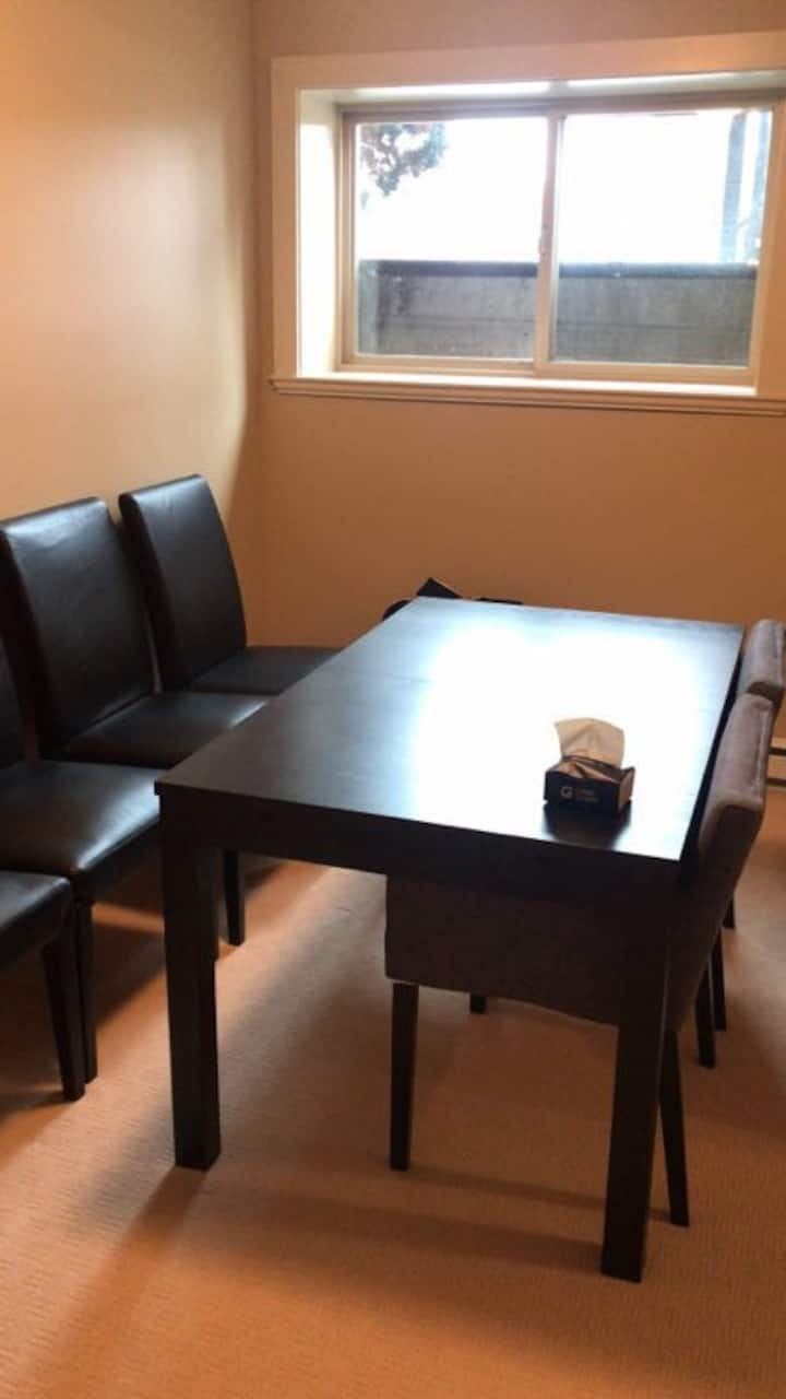 Beautiful large private one-bedroom suit