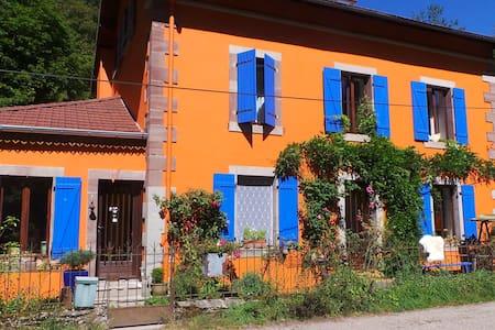Landelijke B&B Vogezen Roze Kamer - Vosges