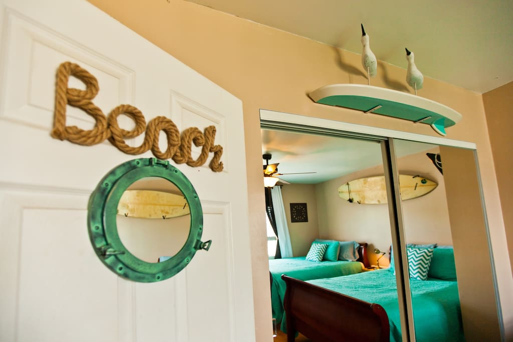 Welcome to your Ocean Beach Room in Urban Los Angeles.