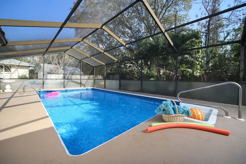 Nice size Private enclosed pool