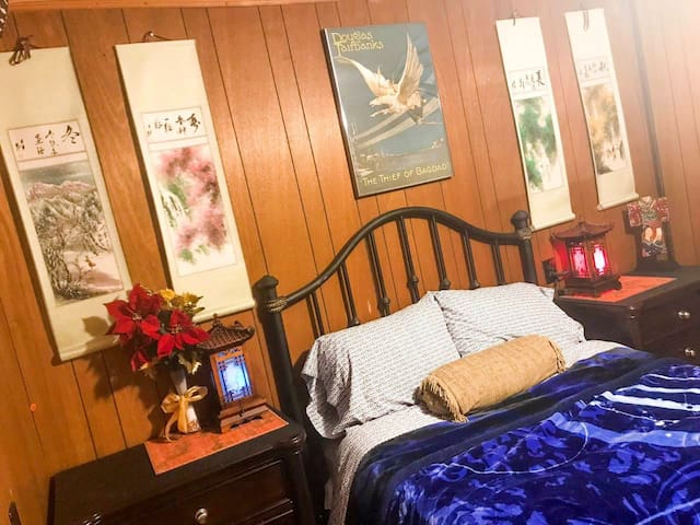 Shanghai Suite located in humble southern home