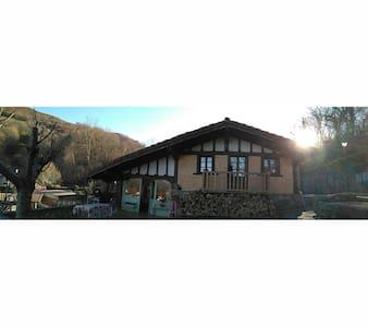 B&B casita de madera/en chalet - Zugarramurdi - Haus