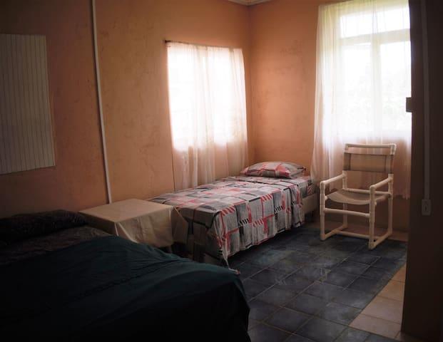 Bedroom 1 can sleep 3 and has ensuite bathroom