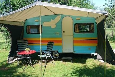 Retro caravan op minicamping - Drouwenerveen - Lakókocsi/lakóautó
