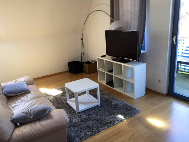 Schöne 1 Zimmer Maisonette Wohnung im Stadtzentrum