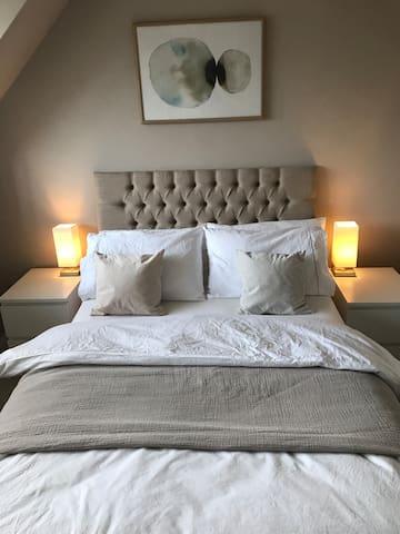 Luxurious natural bedding