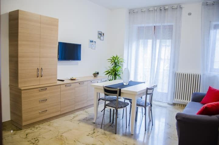 Appartamento completo e confortevole in centro
