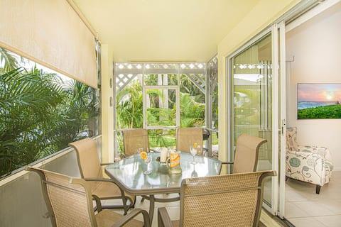 New 2/2 Lux Resort Villa Private 1st Flr Entrance