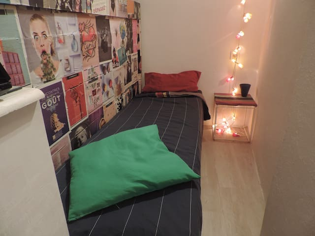 bed semi-privat in Old City center heritage UNESCO - Lyon - Apartament