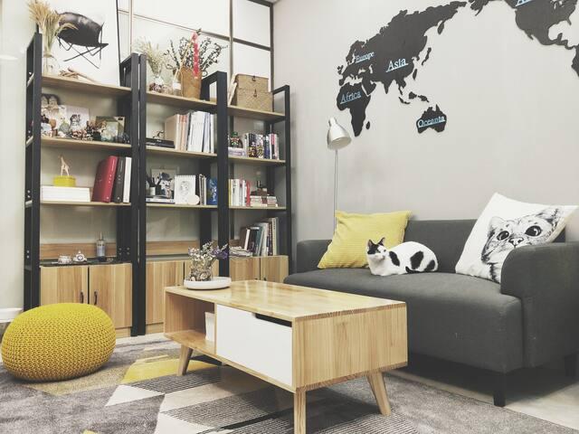 Den-Lu homestay. A cozy accommdation near metro