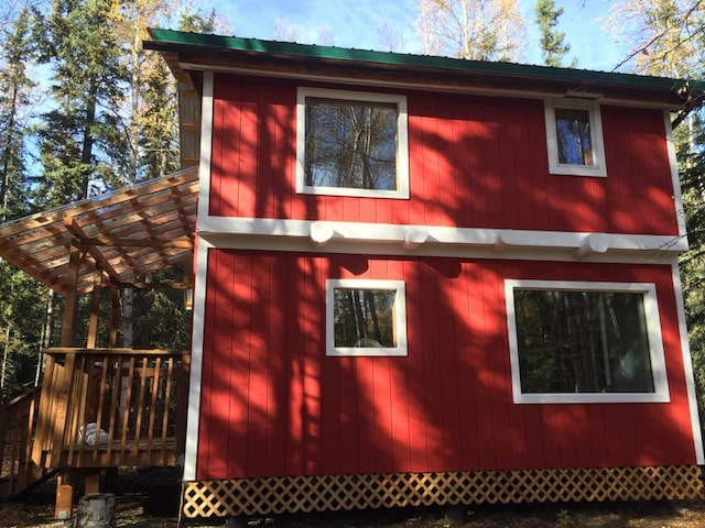 Cute Cabin in the Goldstream valley - Fairbanks - Cabane