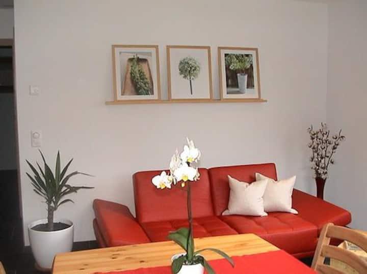 Ferienwohnung Caviezel-Blaas, (Tschlin), Apartment for 2-3 people