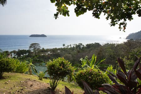 Room with kitchen, terrace - amazing sea view - Manuel Antonio