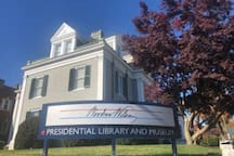 Just a couple of blocks away you can explore The Woodrow Wilson Presidential Library and Museum