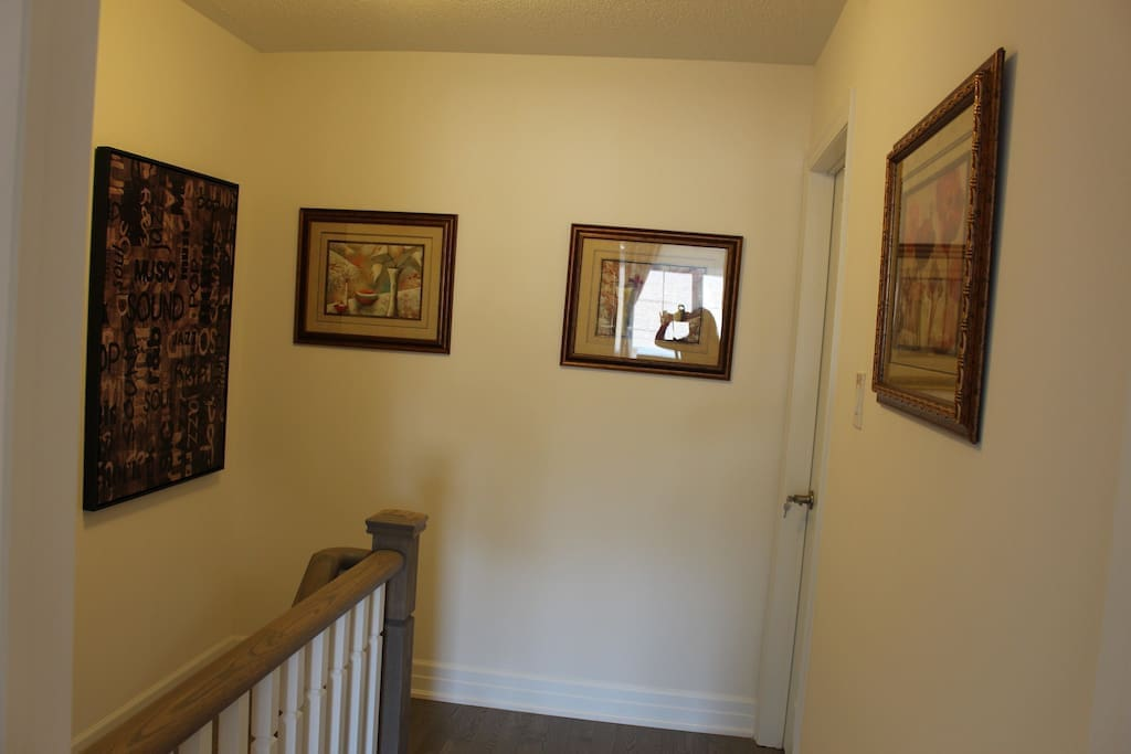 staircase to and from room