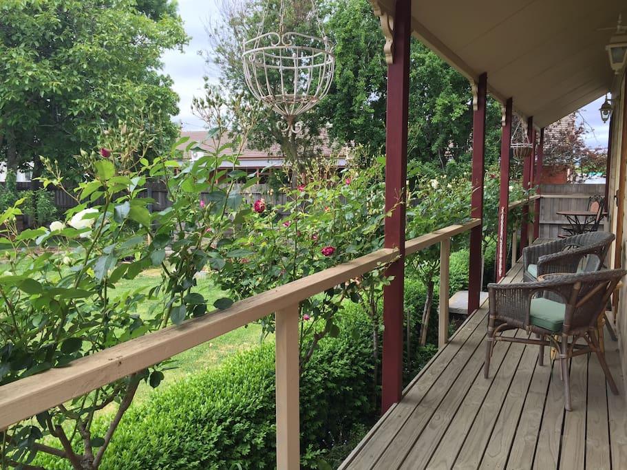 Relax on your verandah