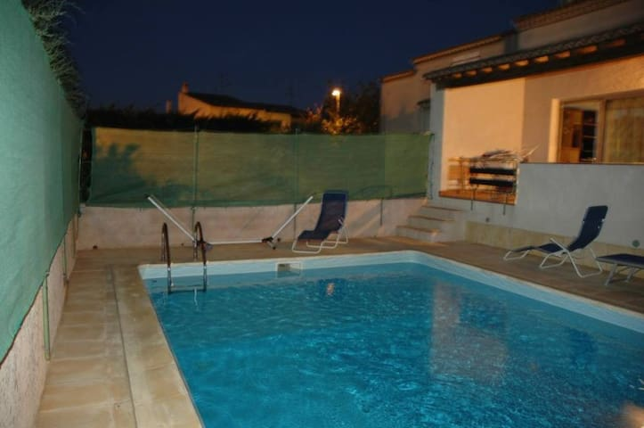 Villa w/ private pool in Agde for 6 - Agde - Villa