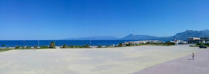 Casetta del Lungomare with sea view