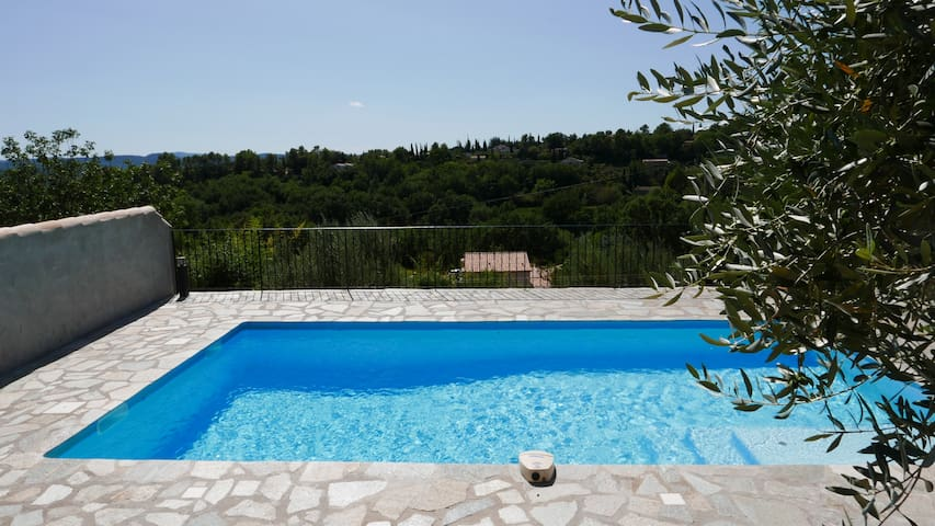 7 x 4.5M Secluded south facing pool