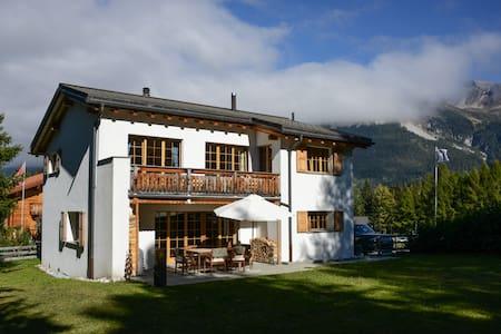 Traumhaus Guarda Munt - Ferienhaus an bester Lage - Vaz/Obervaz