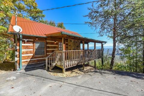 ⛰ View! Private Studio Cabin,Hot Tub,RELAX,Honeymoon