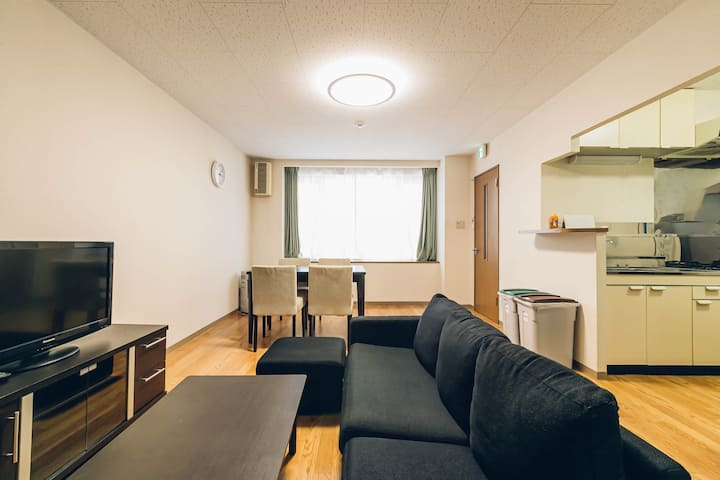 Asahikawa 2bedroom apartment w/parking 101