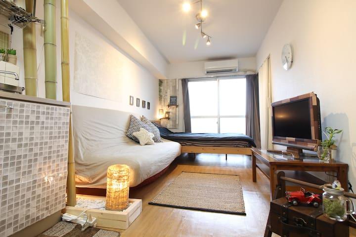 3min from SHIBUYA sta by train★WIFI★Tokyo★ - Setagaya-ku - Apartment