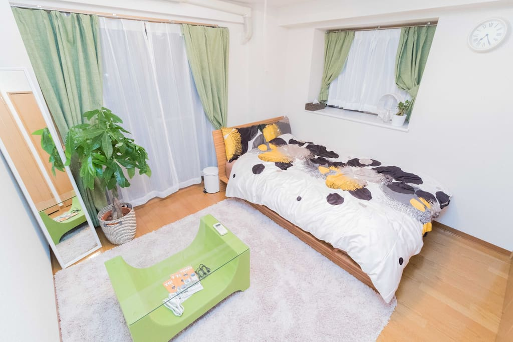 10mins from Waseda st. 3ppl accommodated, high speed wifi, cozy room!