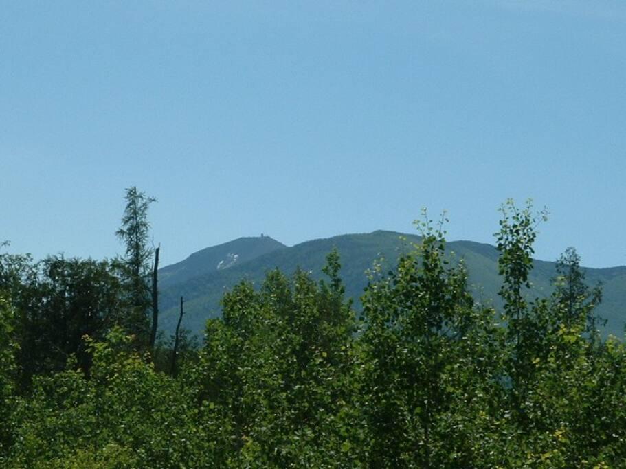 Views towards Whiteface Mountain