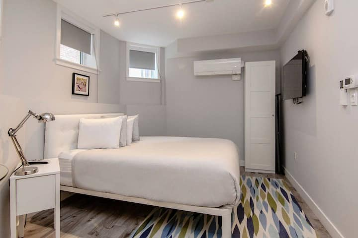 A Stylish Stay w/ a Queen Bed, Heated Floors; #3