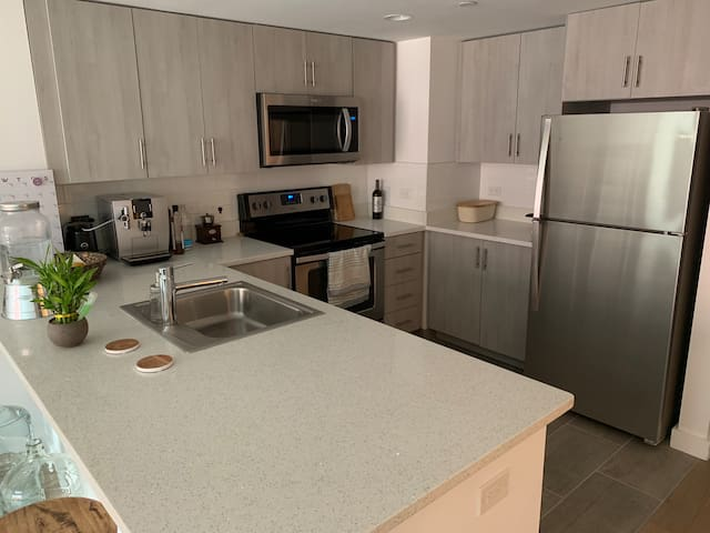 Brand new apartment in the heart of Hamilton Park