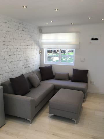 Lounge area - can also be used as beds for up to 2 young kids