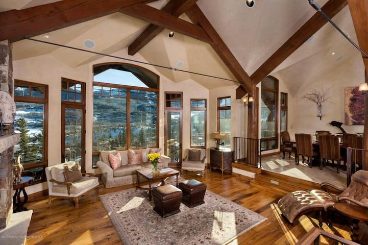 ESCAPE the summer heat at this LUX Mtn retreat!