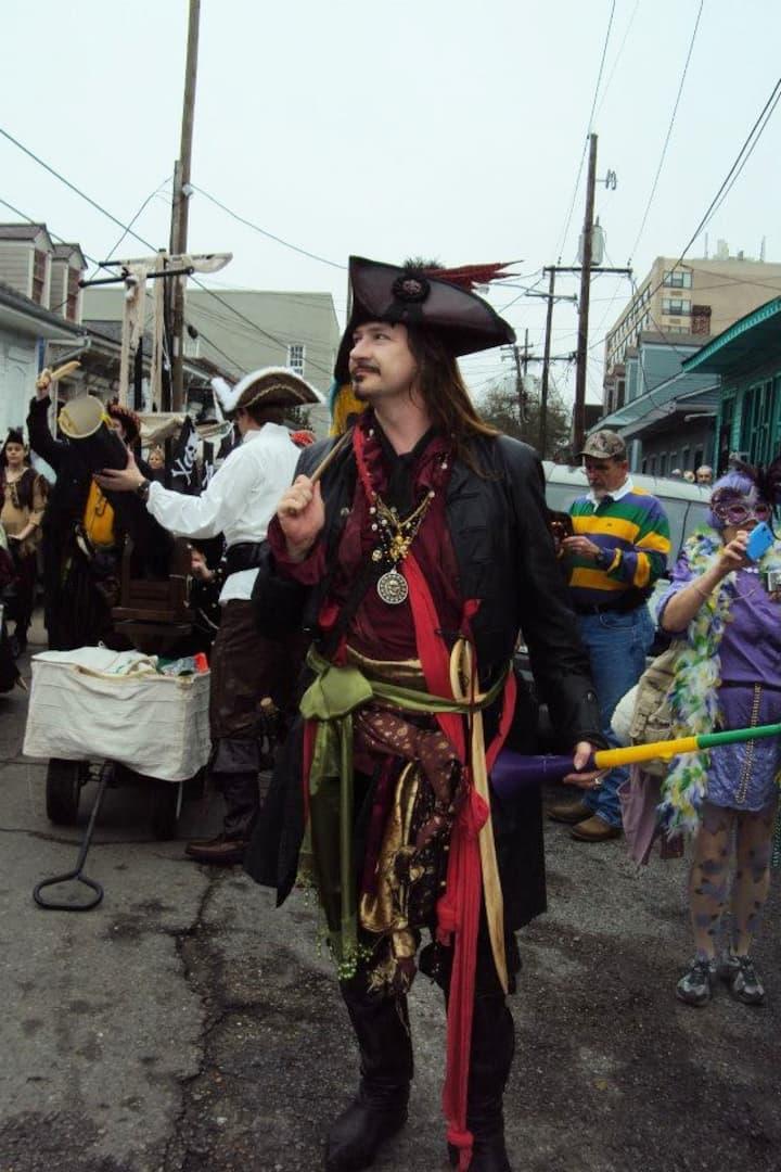 Piracy for Mardi Gras!