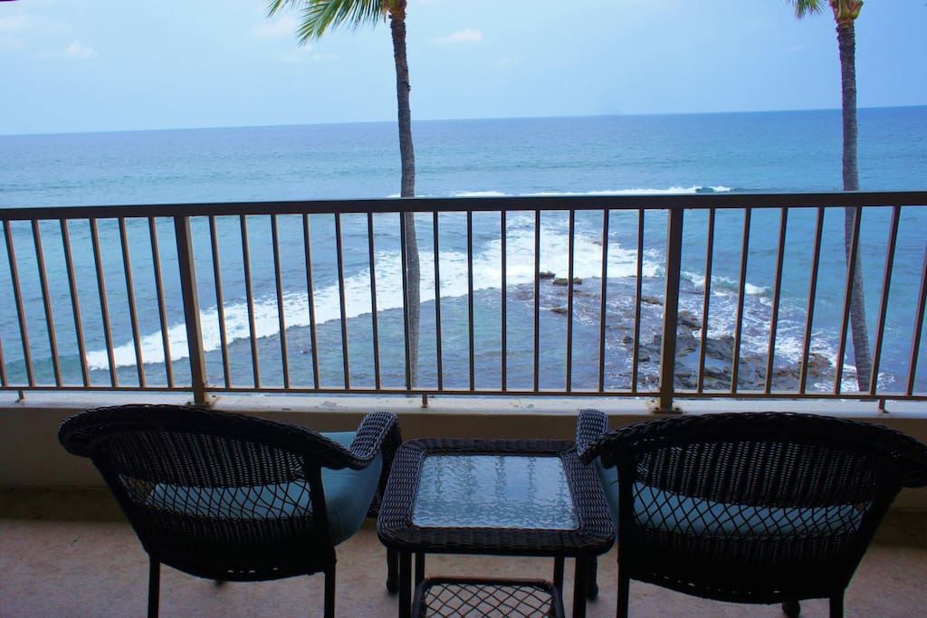 Wonderful Oceanfront Location
