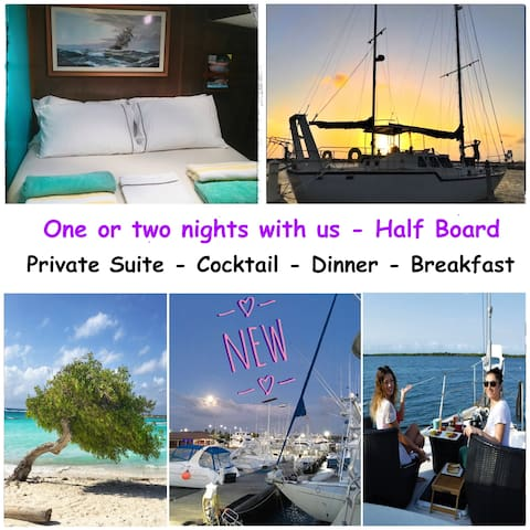 Boat & Breakfast - Half Board - Private Suite