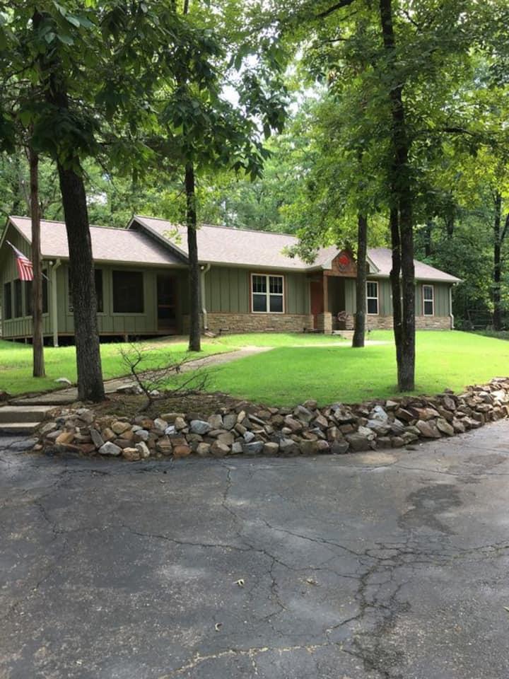 Newer Lake Greeson Cabin