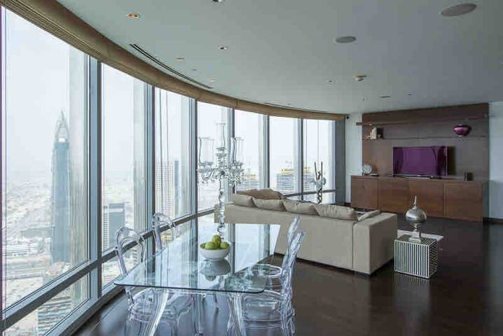 Luxury 78th floor appartment Burj Khalifa