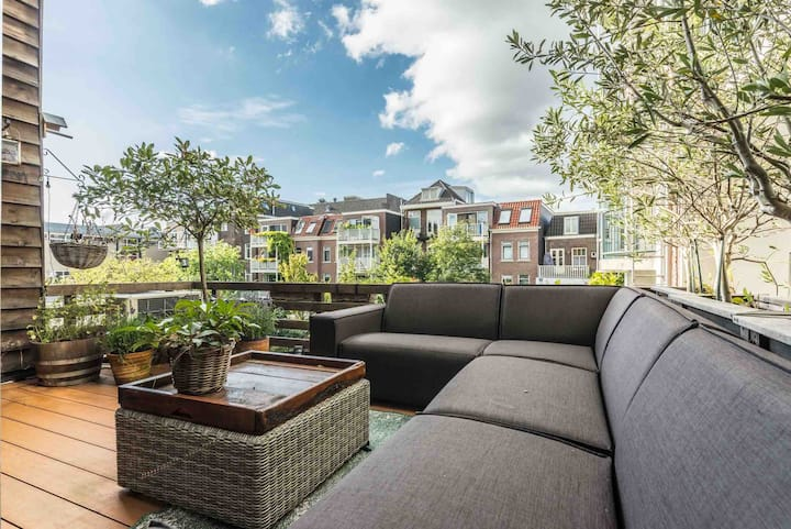Amsterdam centre Canal App & private roof terrace