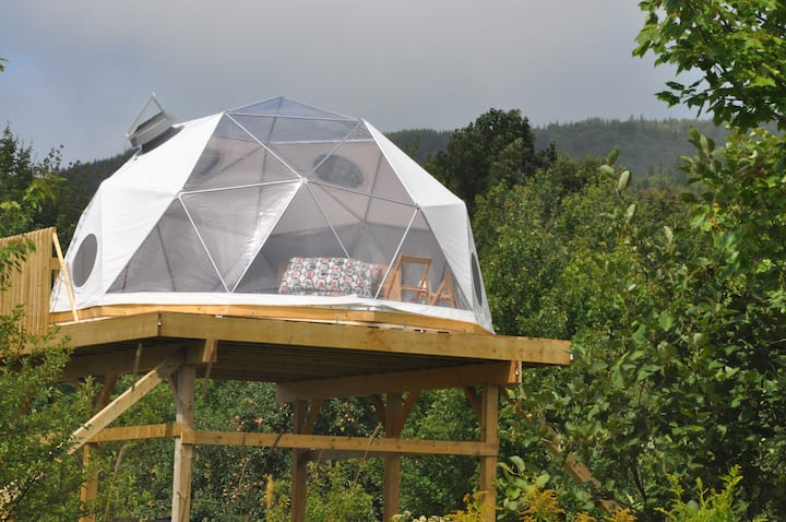 The Blue Heron Dome at Cabot Shores
