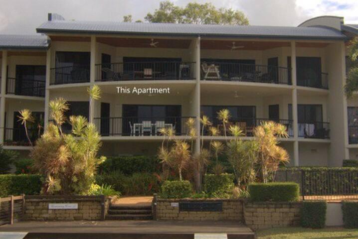 Modern Beachfront Apartment,  Cannonvale Beach
