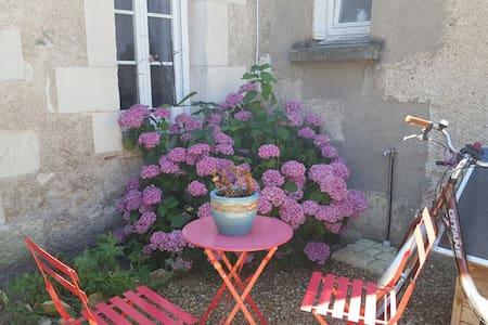 Maison à partager avec jardin et prêt de vélos. - La Ville-aux-Dames