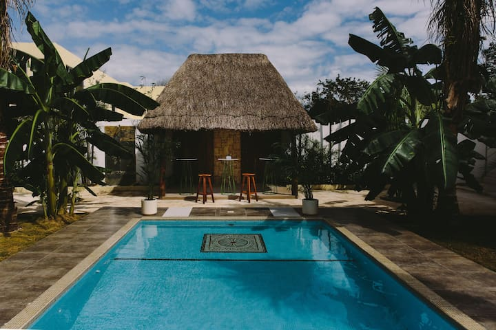 Intimate Jungle Retreat 10+ groups &healthy food - Tulum - Bed & Breakfast