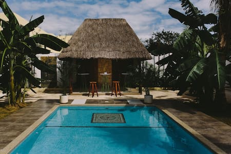 Intimate Jungle Retreat 10+ groups &healthy food - Tulum