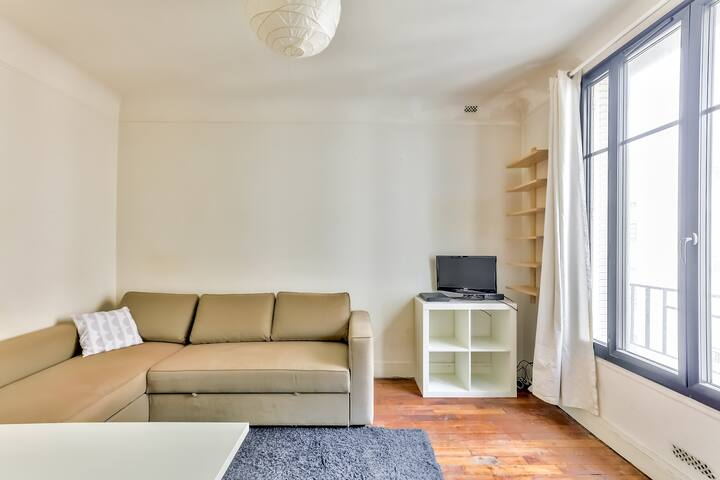 Comfortable studio very close to Roland Garros
