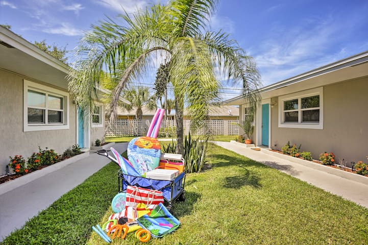 Enjoy boogie boards, beach gear, towels, games, and much more!