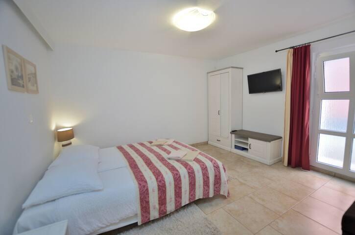 Studio Apartament, Lovran, Basen zewnętrzny, Taras