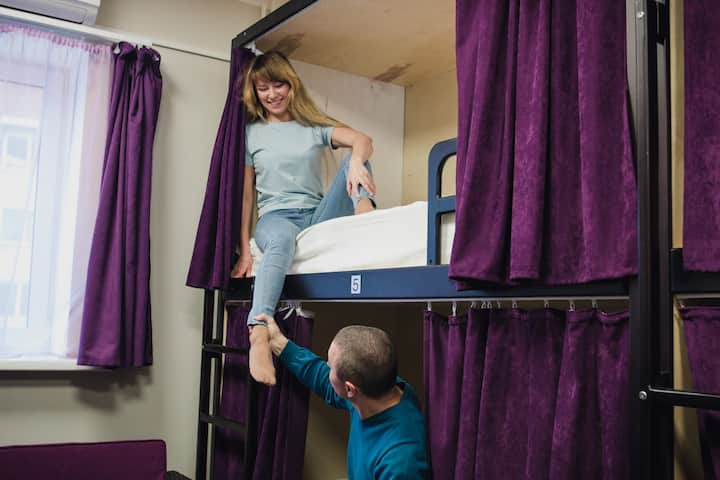Networking Hostel общая комната
