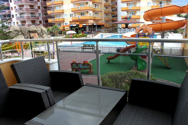 Luxury 2-bedroom apartment 50 meter from the  sea - Alanya - Daire